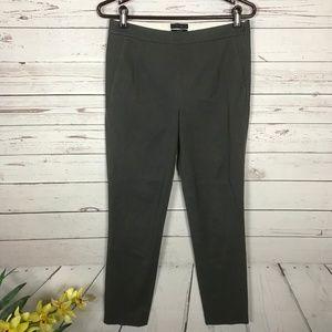 J. Crew Martie Gray Slim Crop Dress Pants - V8